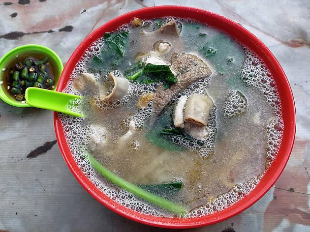 Win Heng Seng pork noodles