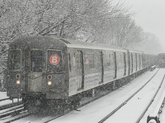The fourth nor'easter in three weeks brings a Springpocalypse to NYC