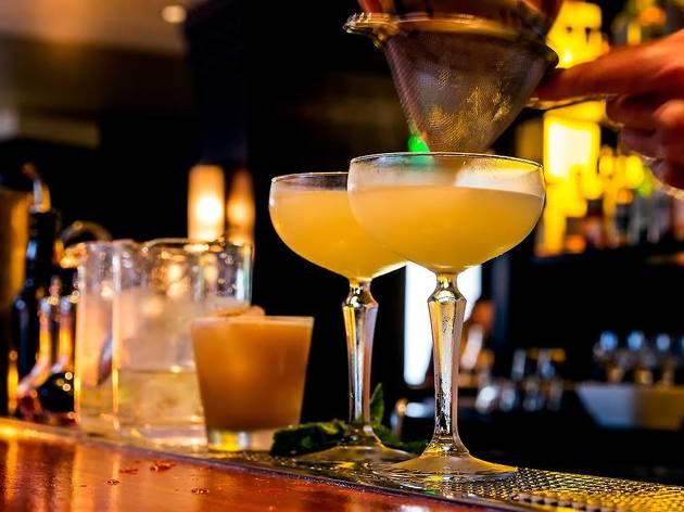 Four cocktails at Kiri
