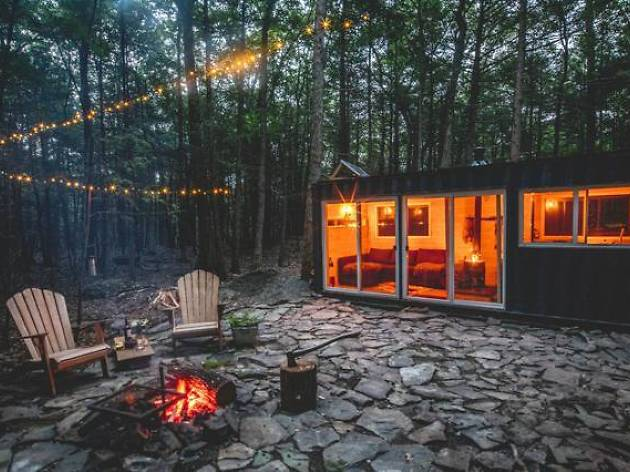 Converted Shipping Container in Saugerties