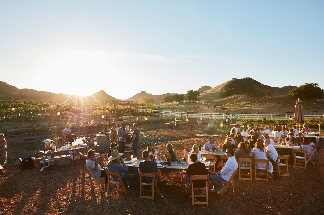 Saddlerock Gardens Organic Farm Dinners