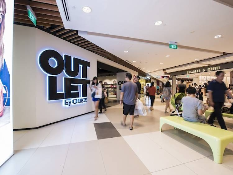 Go outlet shopping at IMM