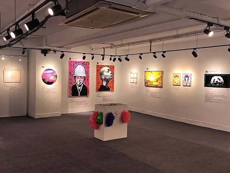 Check out the art at Geneyclee Gallery