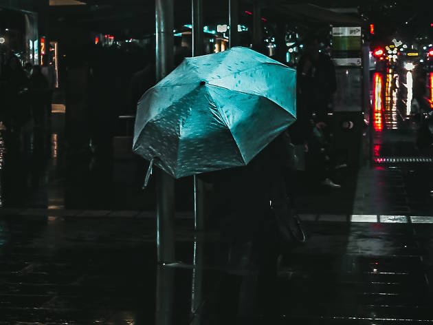 Umbrella on Melbourne