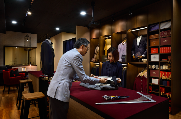 The Prestigious bespoke tailor