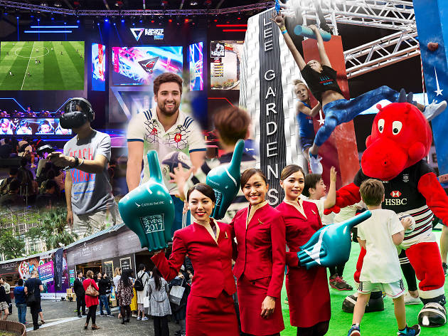 The best things to do at the Cathay Pacific/HSBC Hong Kong Sevens Festival at Lee Gardens