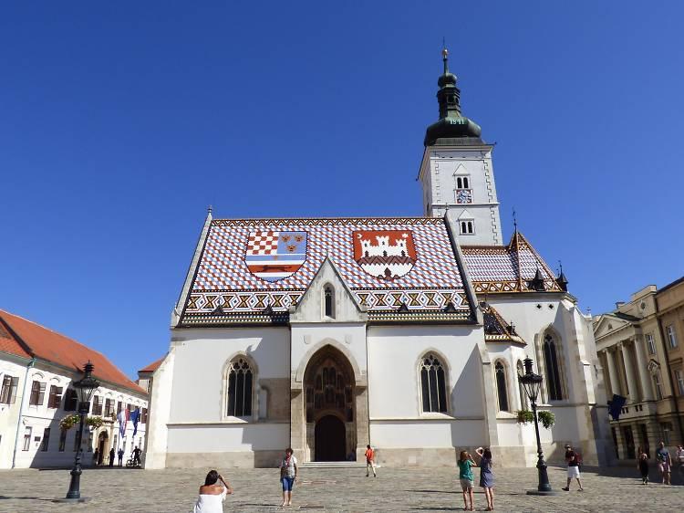Admire St Mark's Church