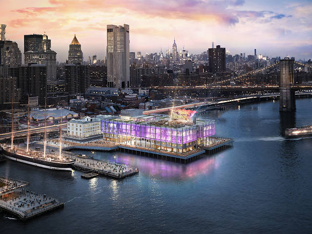 The Seaport is getting a massive new concert venue