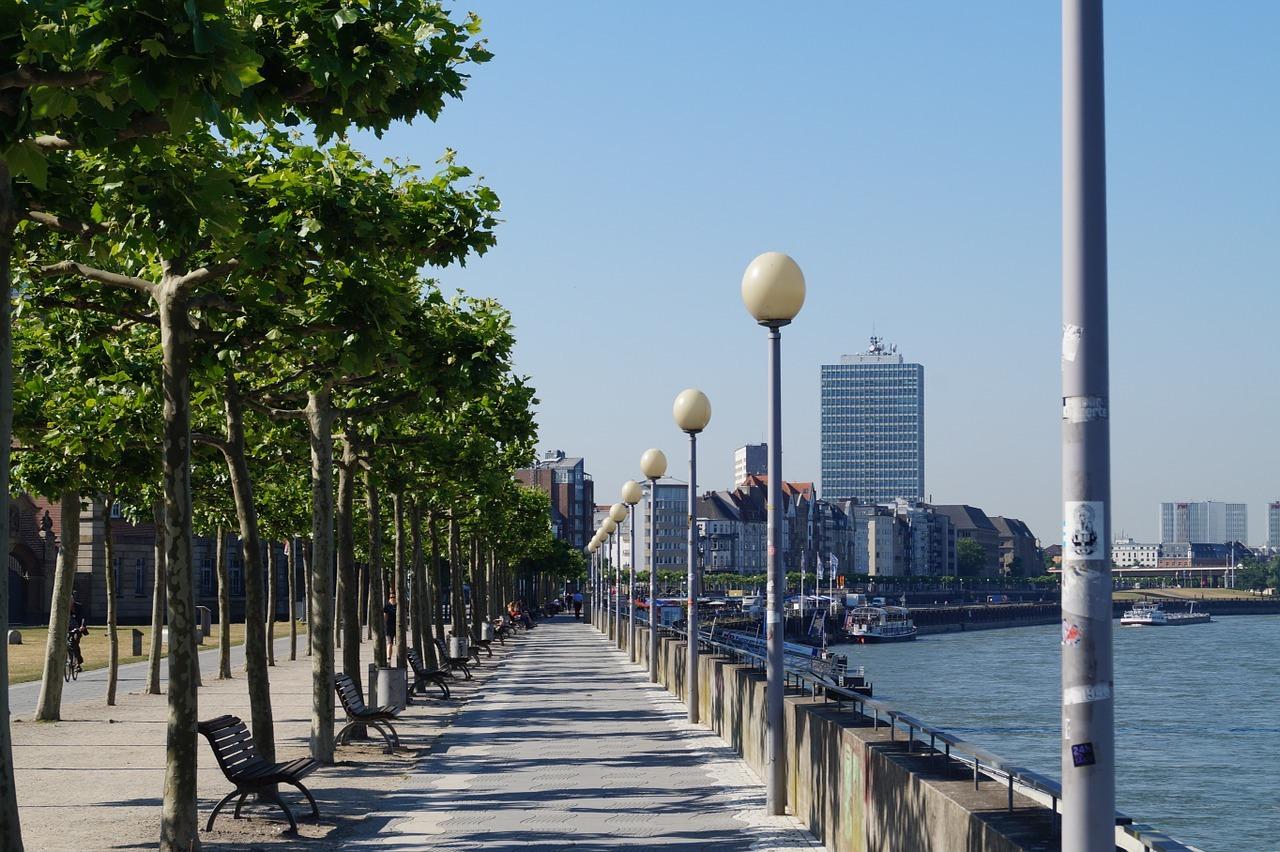 Summer in Düsseldorf