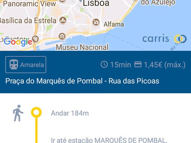 Carris app