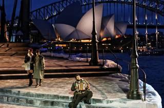 On Stage at La Boheme Opera Sydney Harbour
