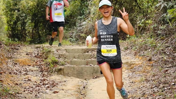 Trail run Hong Kong