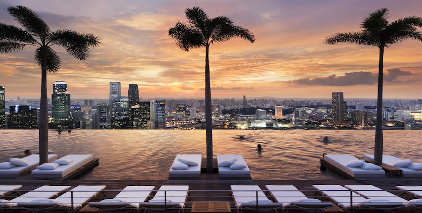 The best Instagrammable hotel pools in Singapore