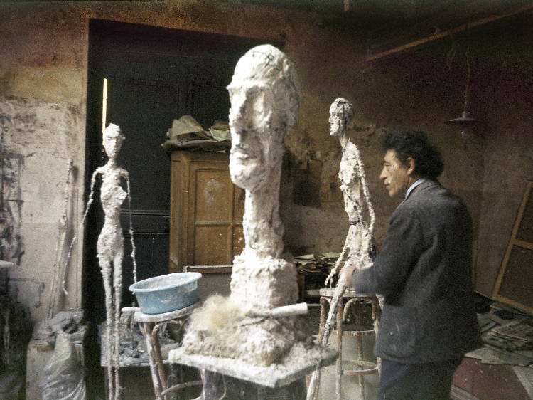See pioneering sculpture at the Fondation Giacometti