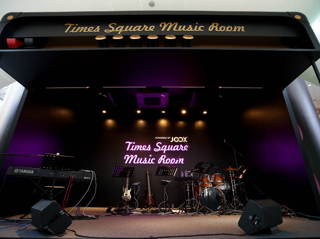 Times Square Music Room