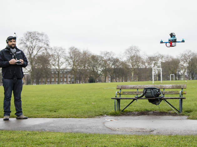 Pablo Crotti London Drone Racing Club