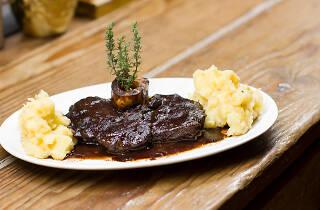 Restaurante, Puro 4050, Cozinha Italiana, Ossubuco de Waygu