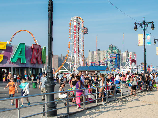 Coney Island's Luna Park officially opens for the season on Saturday