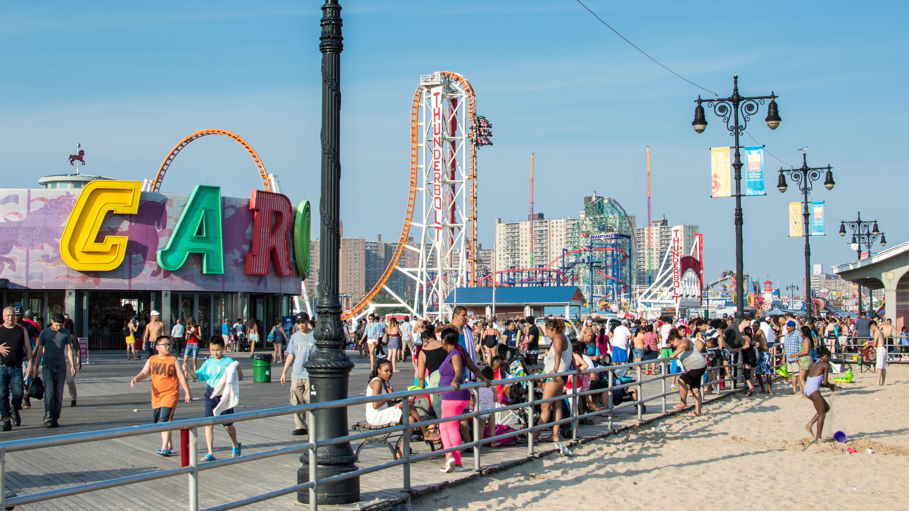 Coney Island's Luna Park opens for the season today