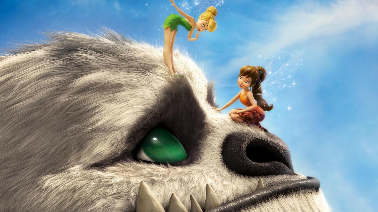 Tinkerbell y la bestia de Nunca Jamás