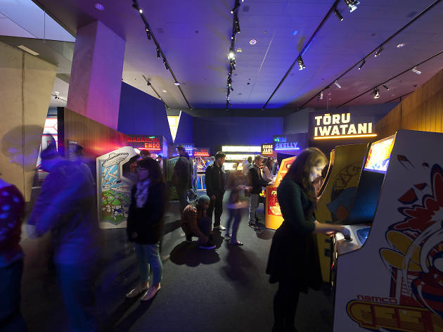 Game Masters is a new video game exhibition at the Franklin Institute