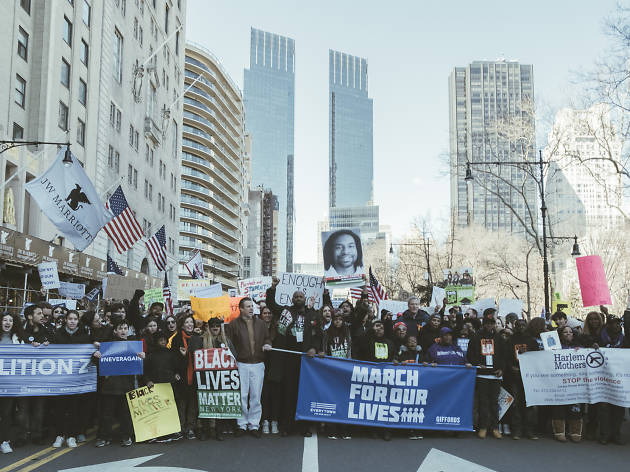 16 photos of the March for Our Lives in NYC today