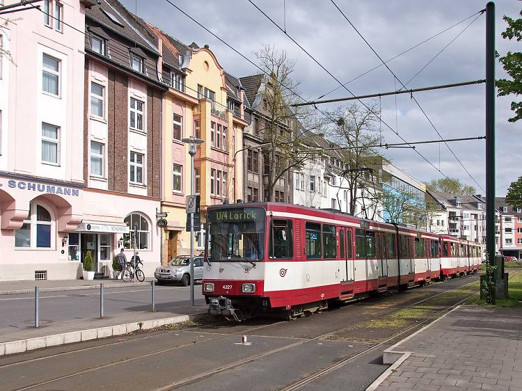 Public transportation in Düsseldorf