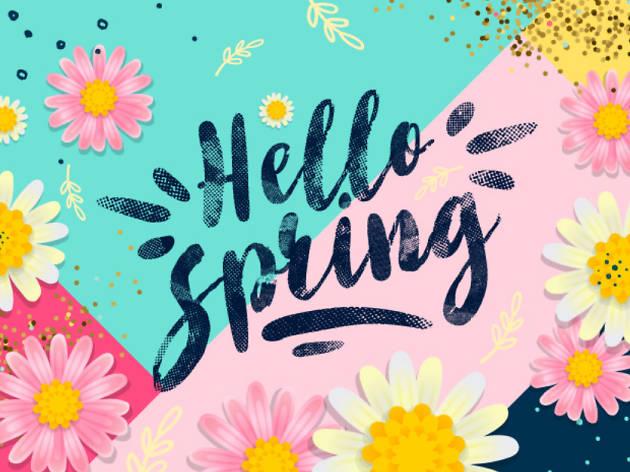 Spring Market ja té data!