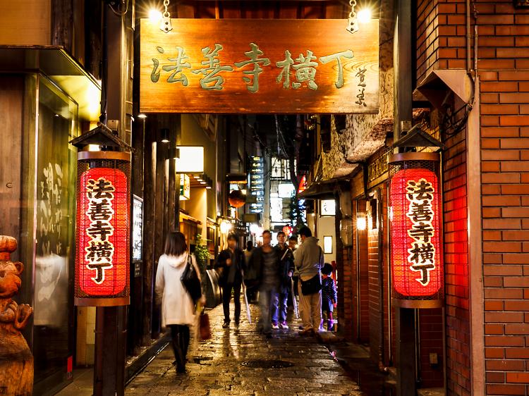 大阪の歴史を食べ歩く。