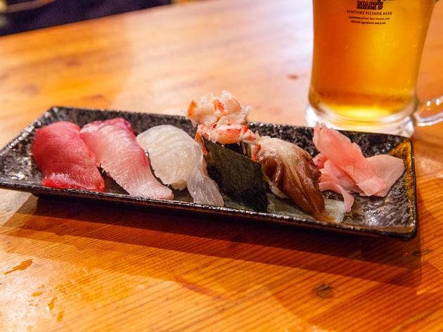 豪快 立ち寿司 日本橋店