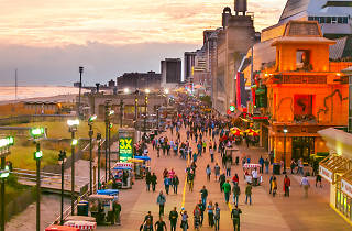 Atlantic City is one of the beach-centric day trips from Philadelphia