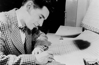 There's a Leonard Bernstein exhibit at the National Museum of American Jewish History