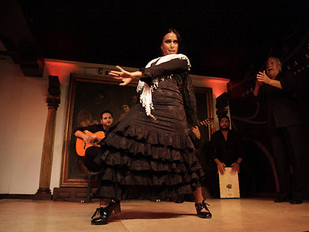 Flamenco. Susana Casas y Cristina Aguilera