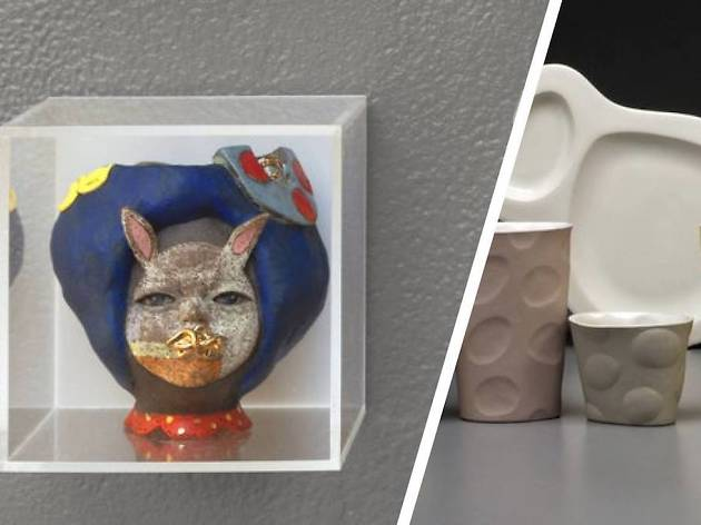 Small Favors is an annual exhibition of tiny artworks at Clay Studio