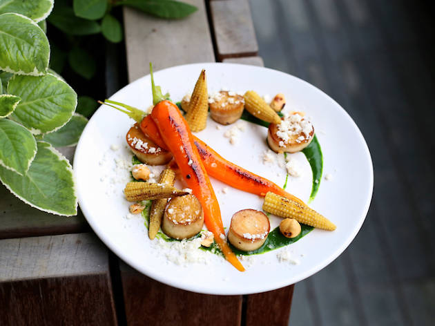 The vegetarian and vegan restaurants in Singapore