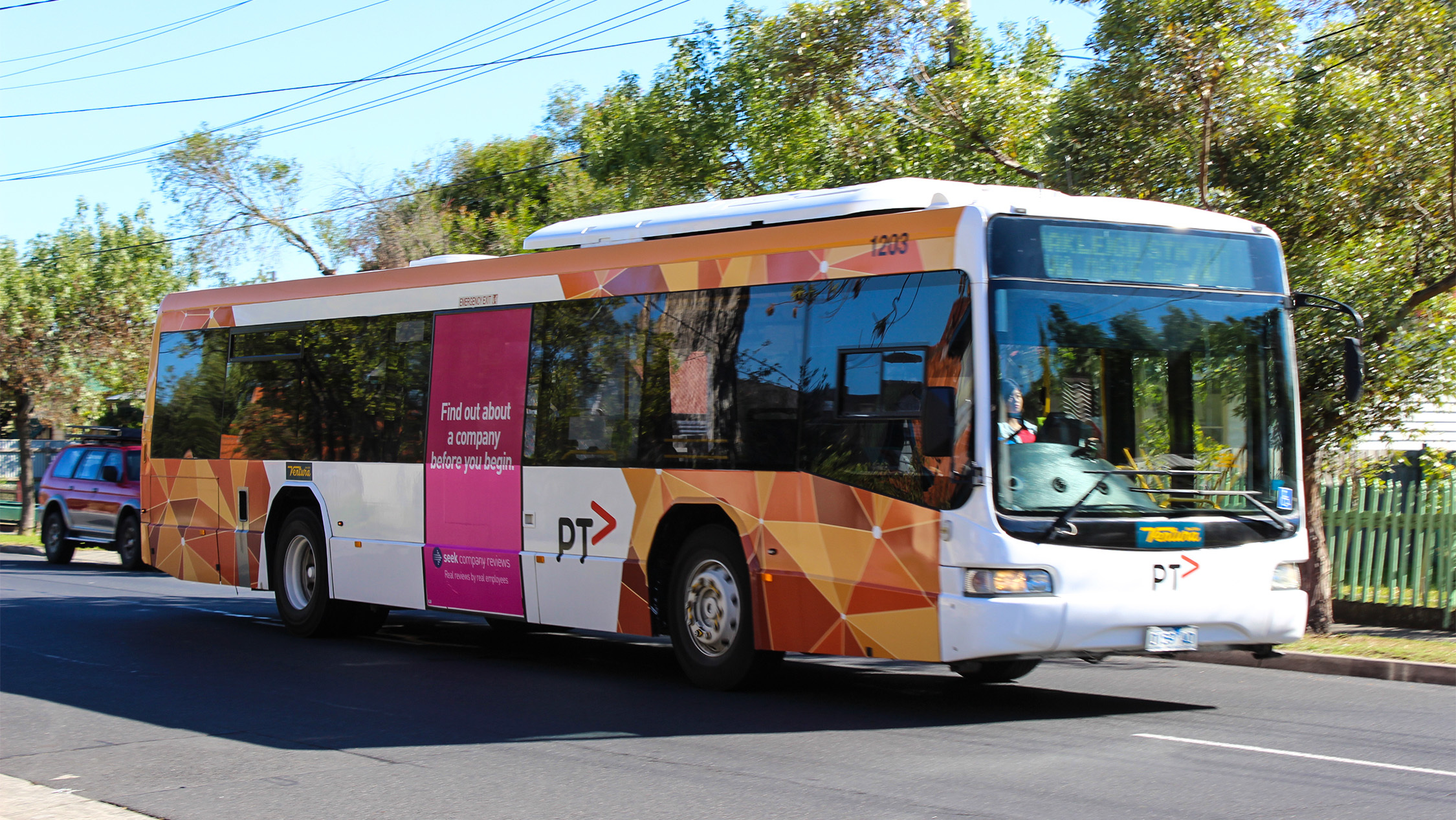 Melbourne PTV bus