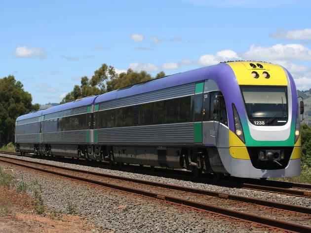V Line Train