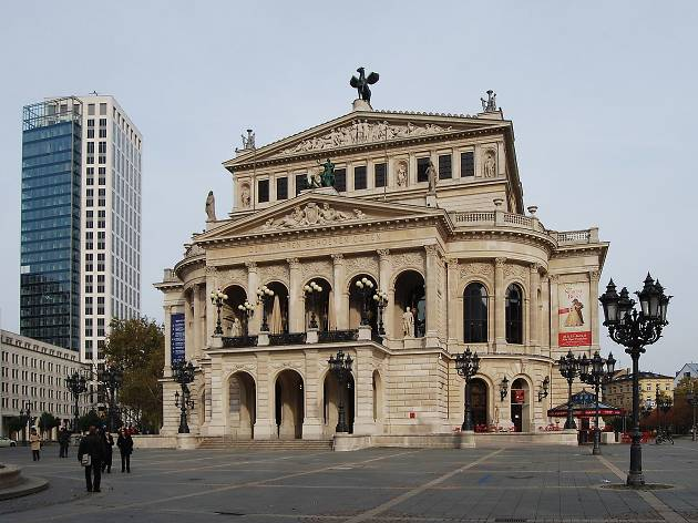 The Alte Oper Frankfurt
