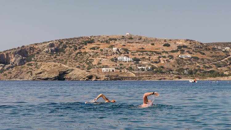 SwimTrek Greece Cyclades