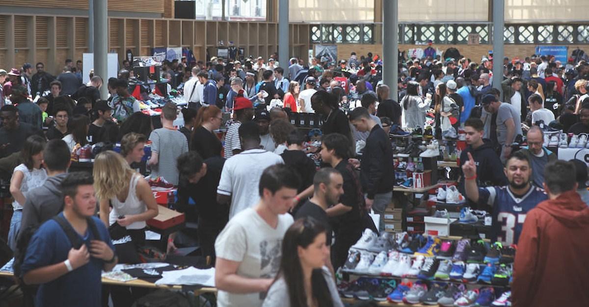 Dimanche, 20 000 sneakers exposées ou vendues au Louvre