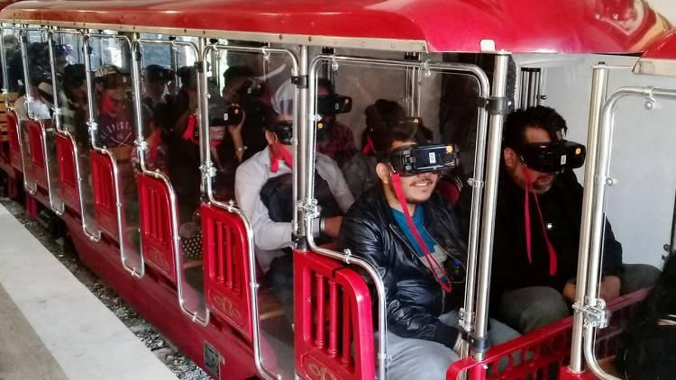 La máquina del tiempo de Cantinflas en la Feria de Chapultepec