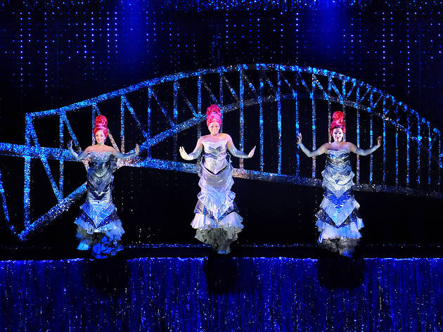 Sydney production of Priscilla Queen of the Desert