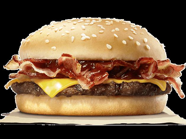 Barbecue Bacon Cheese Burger ($37)