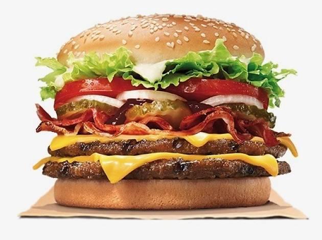 Double Whopper Bacon Cheese Burger ($60)