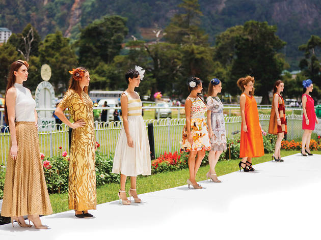 Stylish race-day wear collection