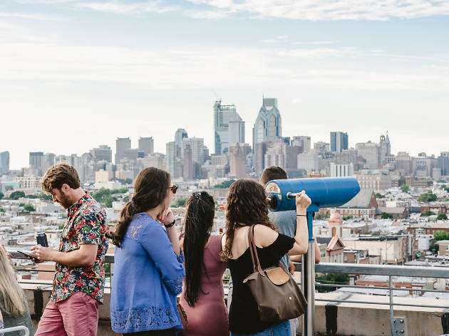 Bok Bar is one of the best rooftop bars in Philadelphia