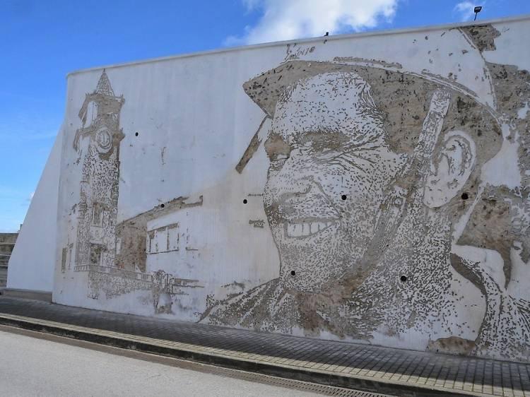 Novos murais de arte urbana
