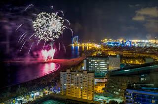 Barceloneta Jocs d'Artifici Portada