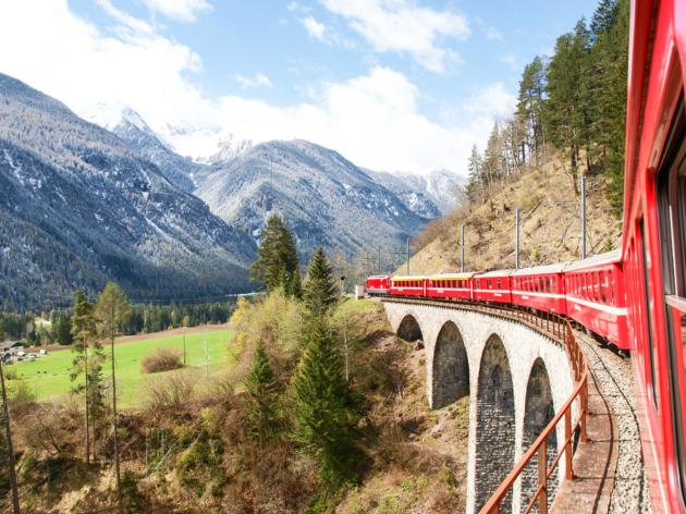 11 beautiful European train journeys from London