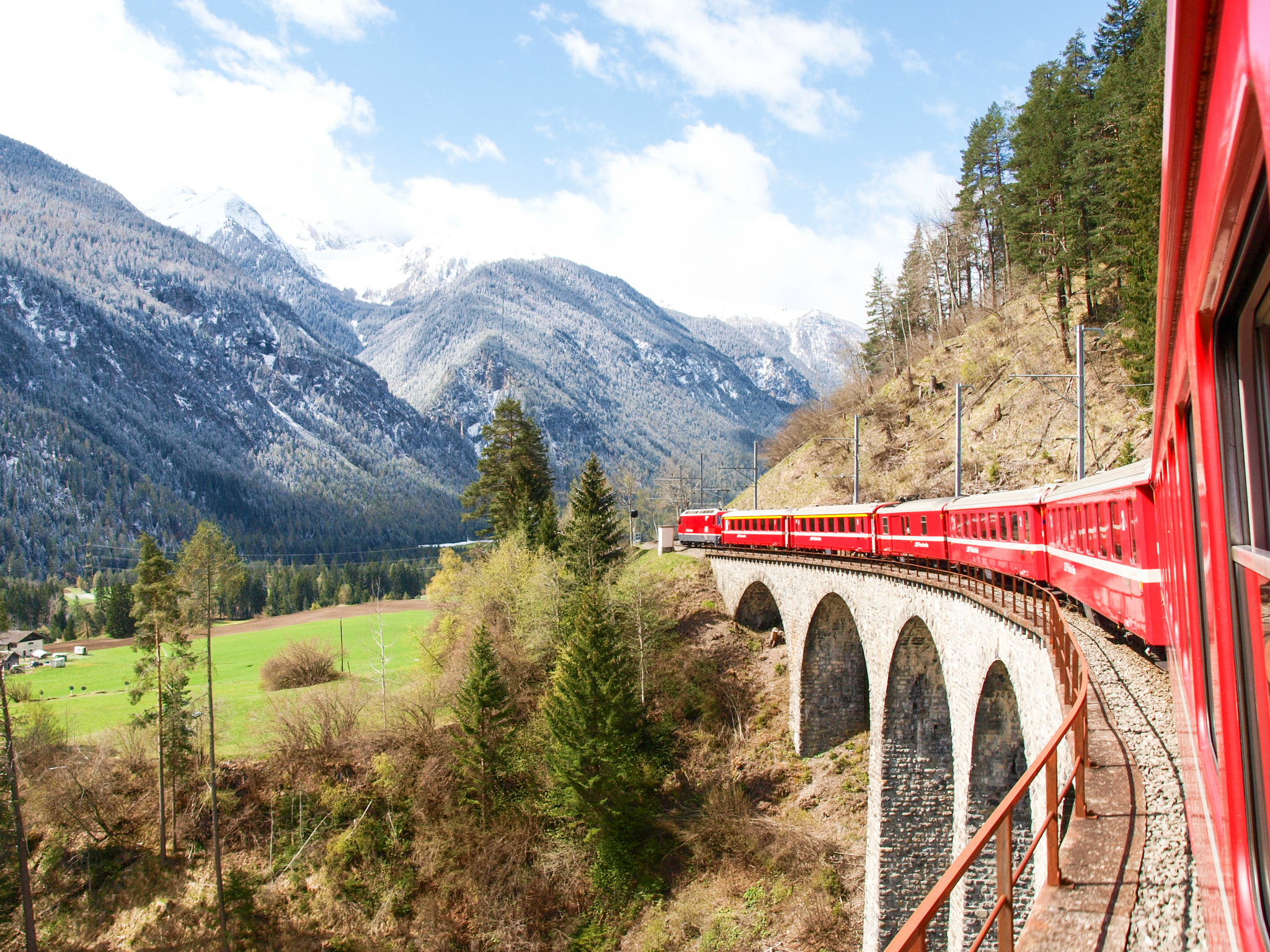 11 beautiful European train journeys from London